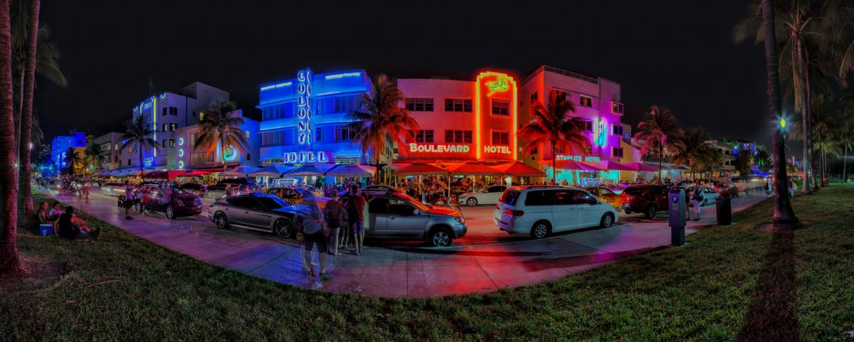South Beach Pano